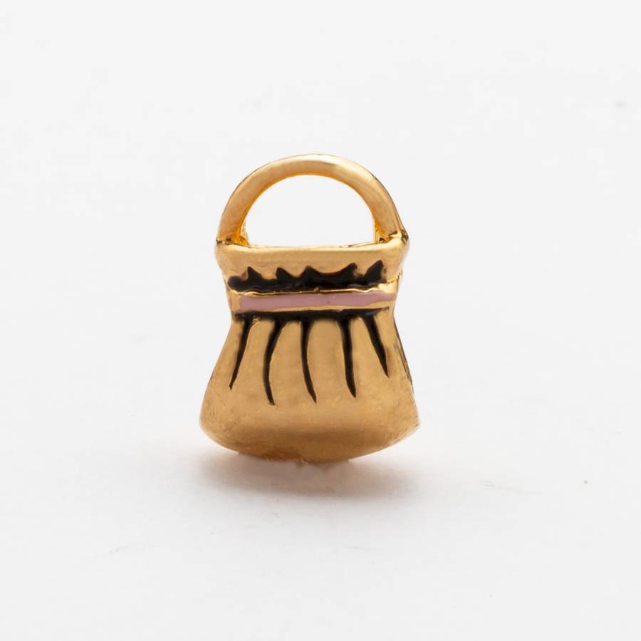 Separador Bolsa Banhado Ouro18k