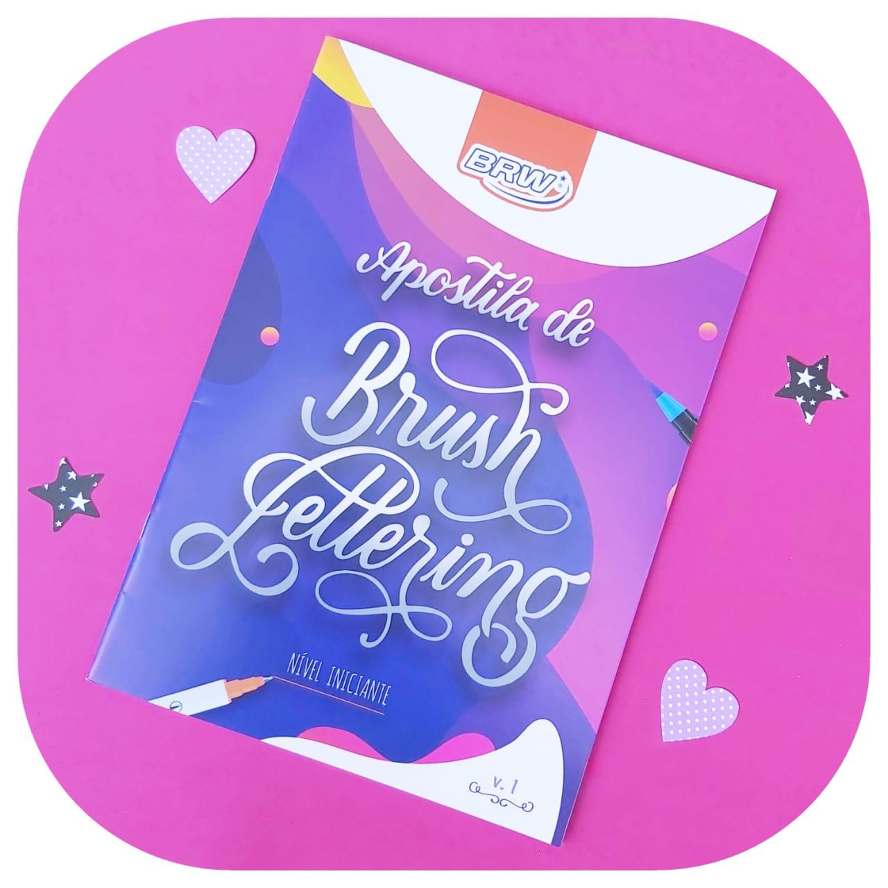 Apostila de Brush Lettering - Nível iniciante - BRW