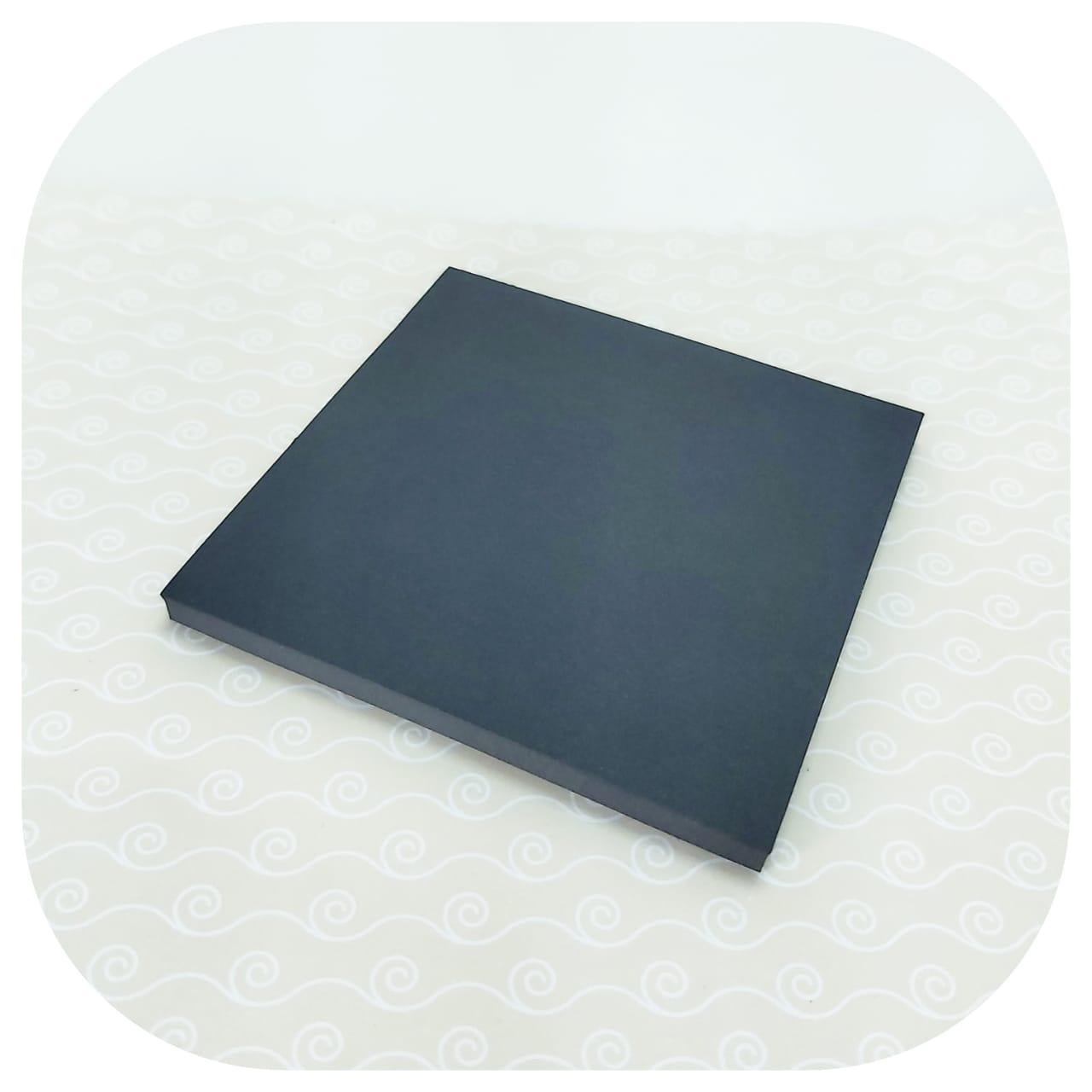 Bloco Smart Notes Preto - 76x76mm - 50 folhas - BRW