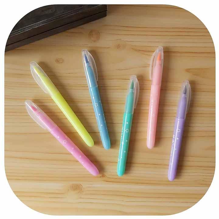 Brush Pen Fluorescente