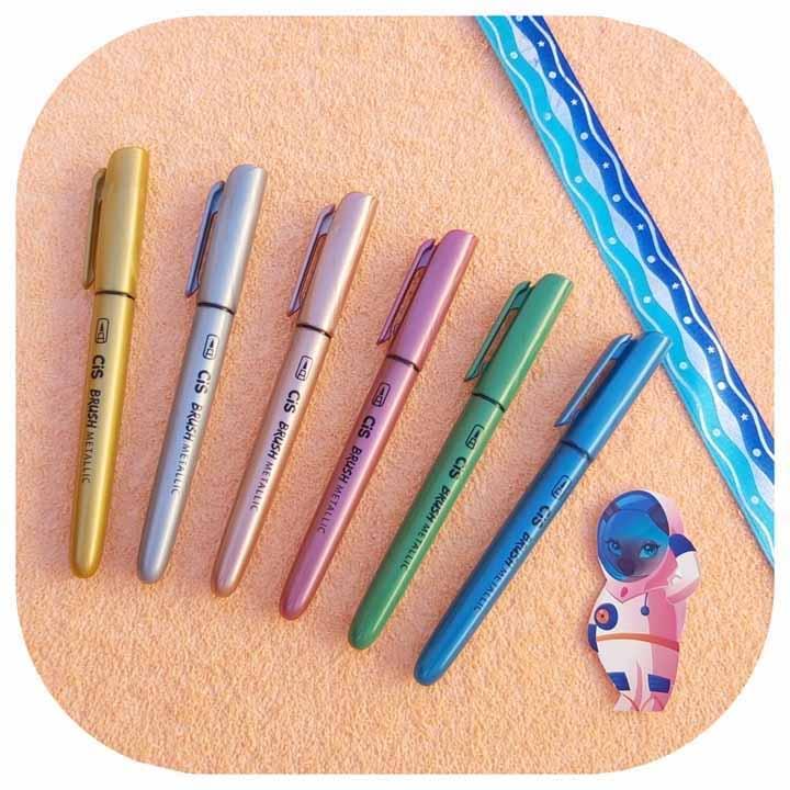 Brush Pen Metallic - Cis