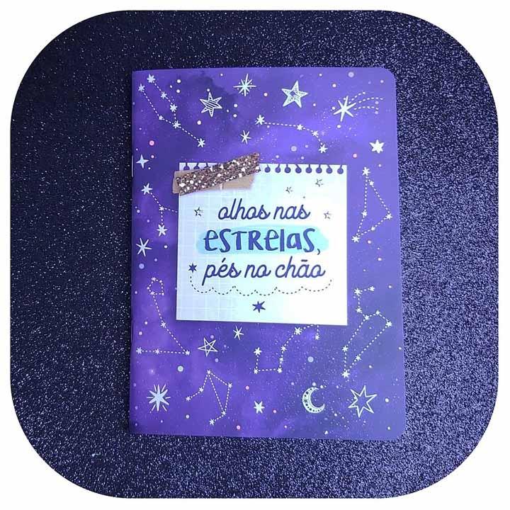Caderneta Pontada - Constelação