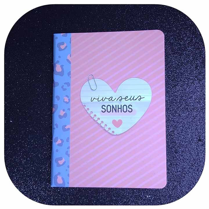 Caderneta Pontada - Viva Seus Sonhos