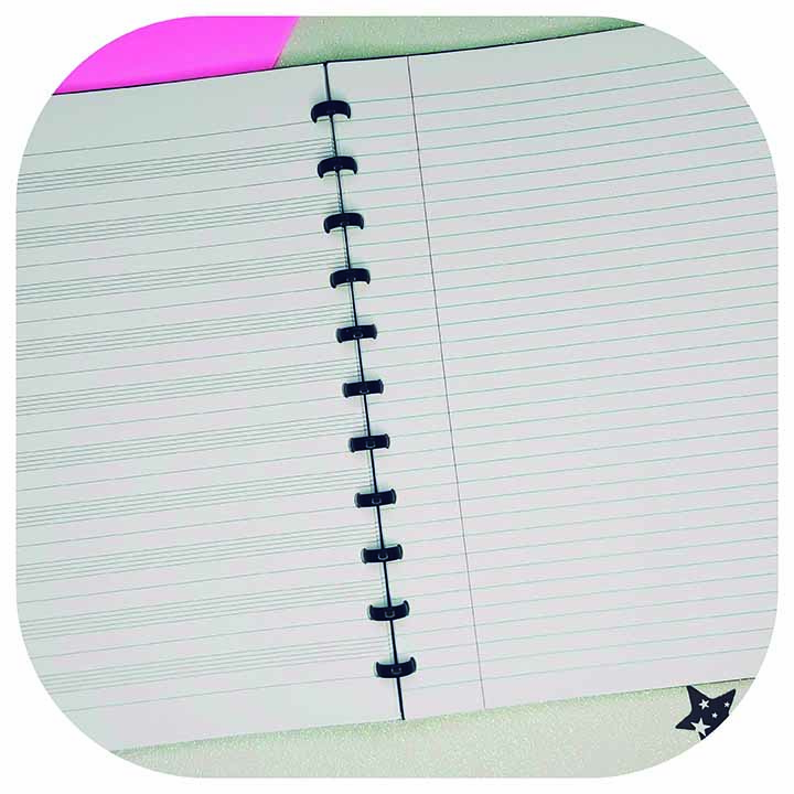Caderno A4 - Linha Music - Original ATOMA