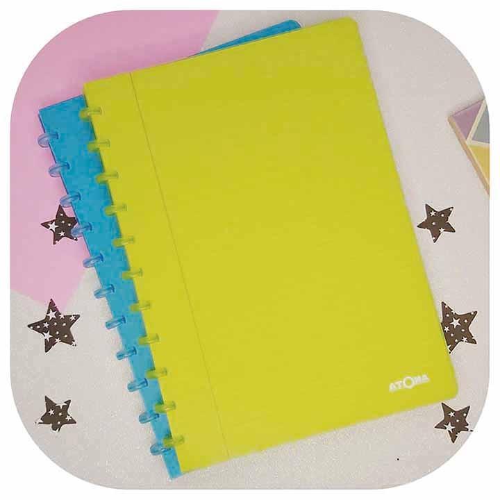 Caderno A4 - Linha Transparent - Original ATOMA
