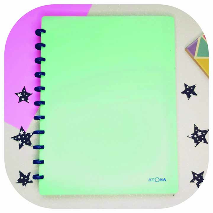 Caderno A4 - Linha Transparent Plus - Original ATOMA