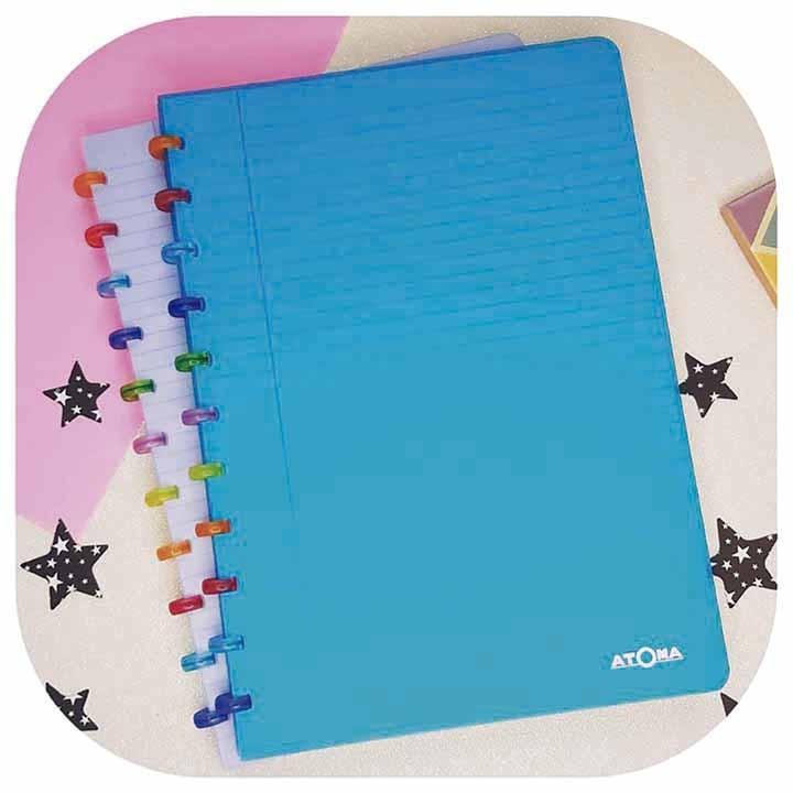 Caderno A4 - Linha Tutti Frutti- Original ATOMA