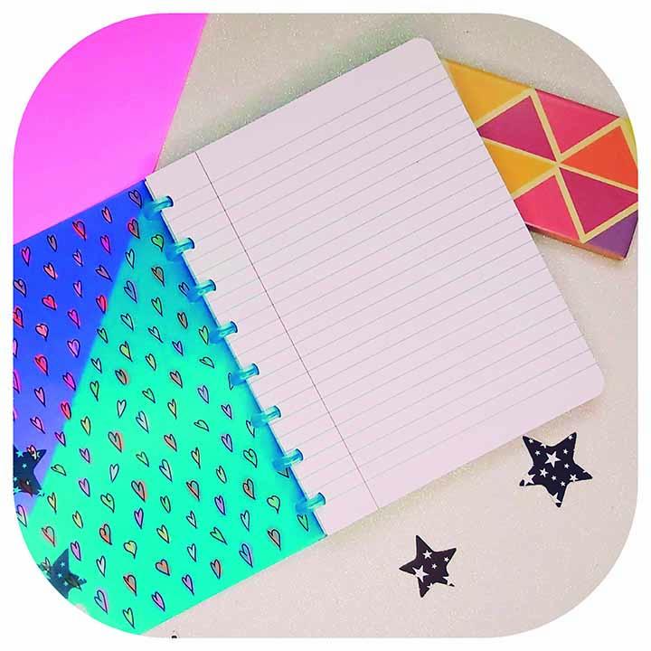 Caderno A5 - Linha Heart- Original ATOMA
