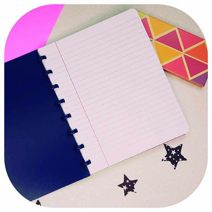 Caderno A5 - Linha Plumes- Original ATOMA