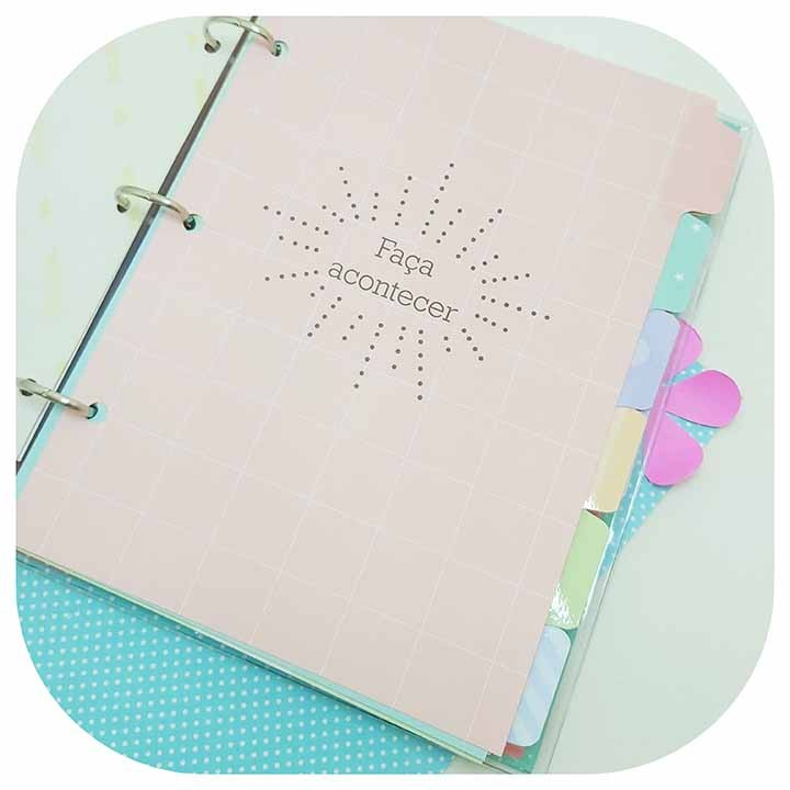 Caderno argolado - Fina Ideia - Lhama