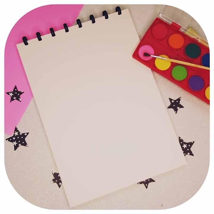 Caderno Drawing A4 - Folha 200g/m² - Original ATOMA