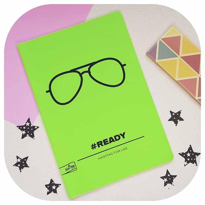 Caderno MarMar Fluo - Óculos