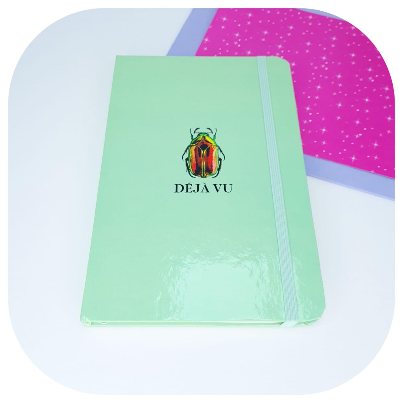 Caderno Pontilhado Dèja Vu