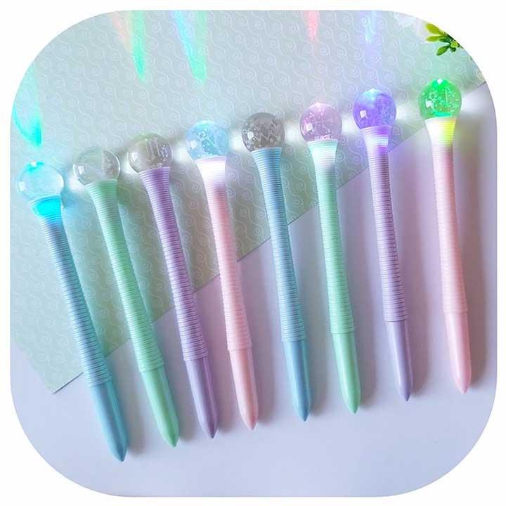 Caneta Bola de Cristal Led - Signos