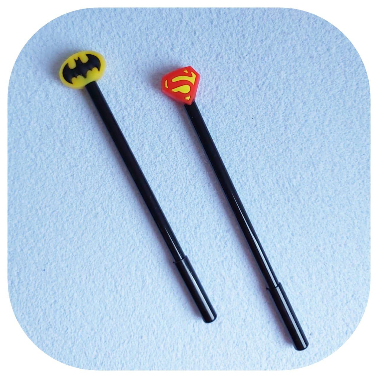 Caneta Heróis DC - Brasão