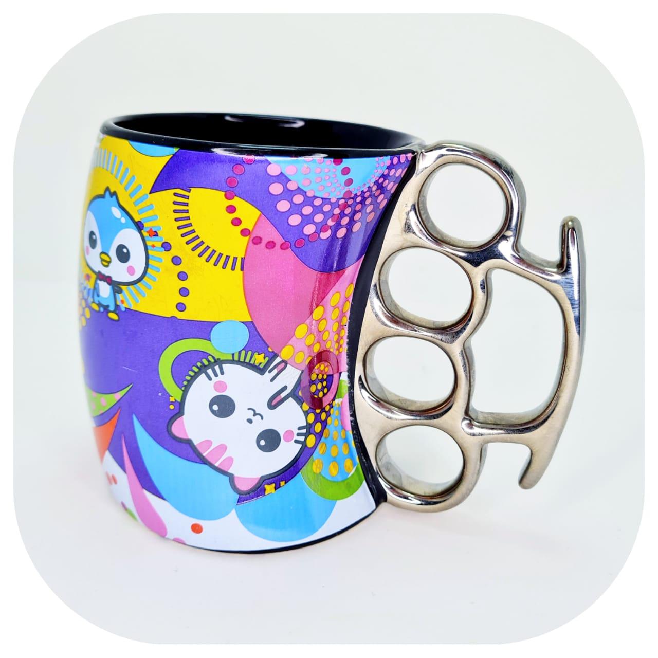 Caneca de Cerâmica - Soco Inglês - All Stars Cute