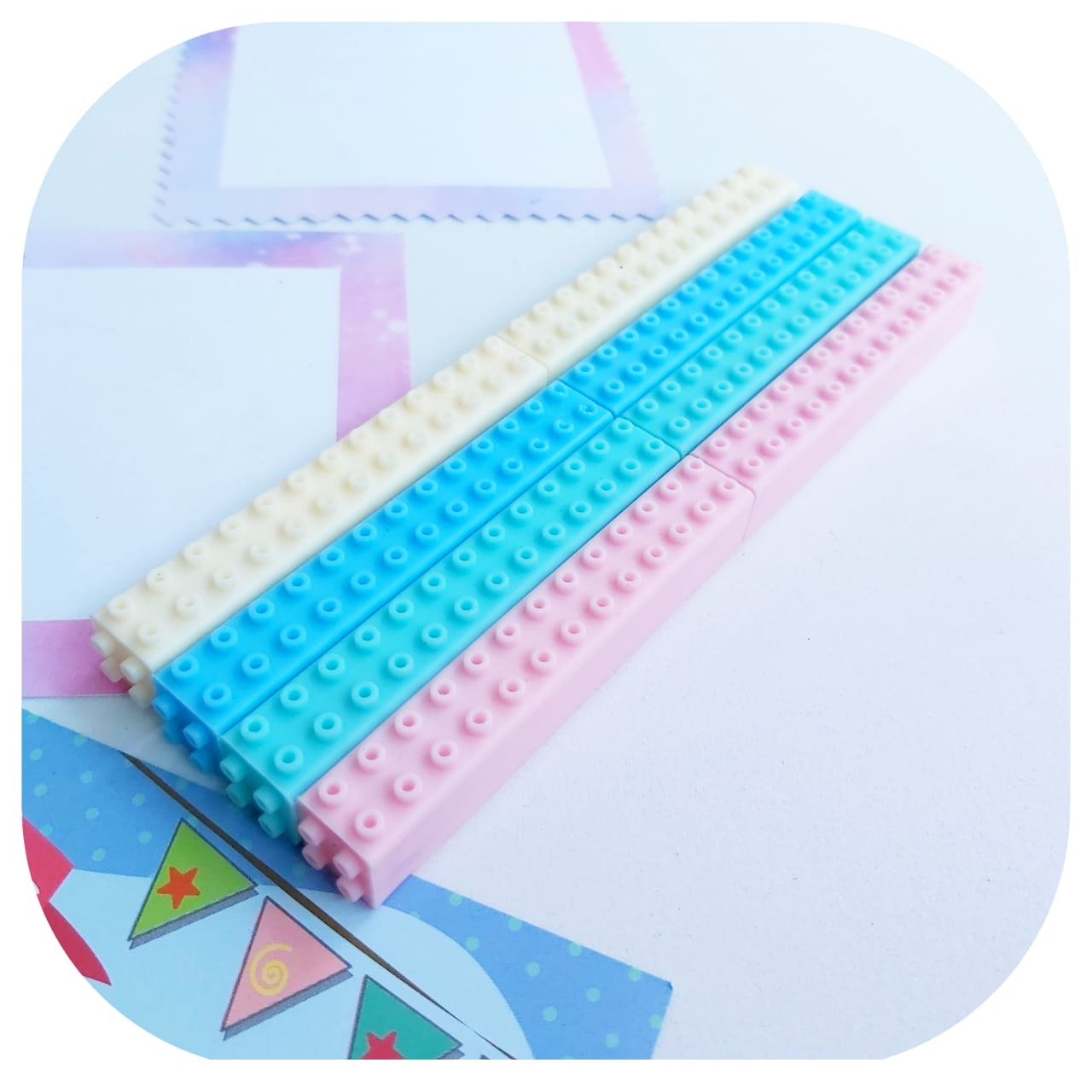 Caneta - Lego