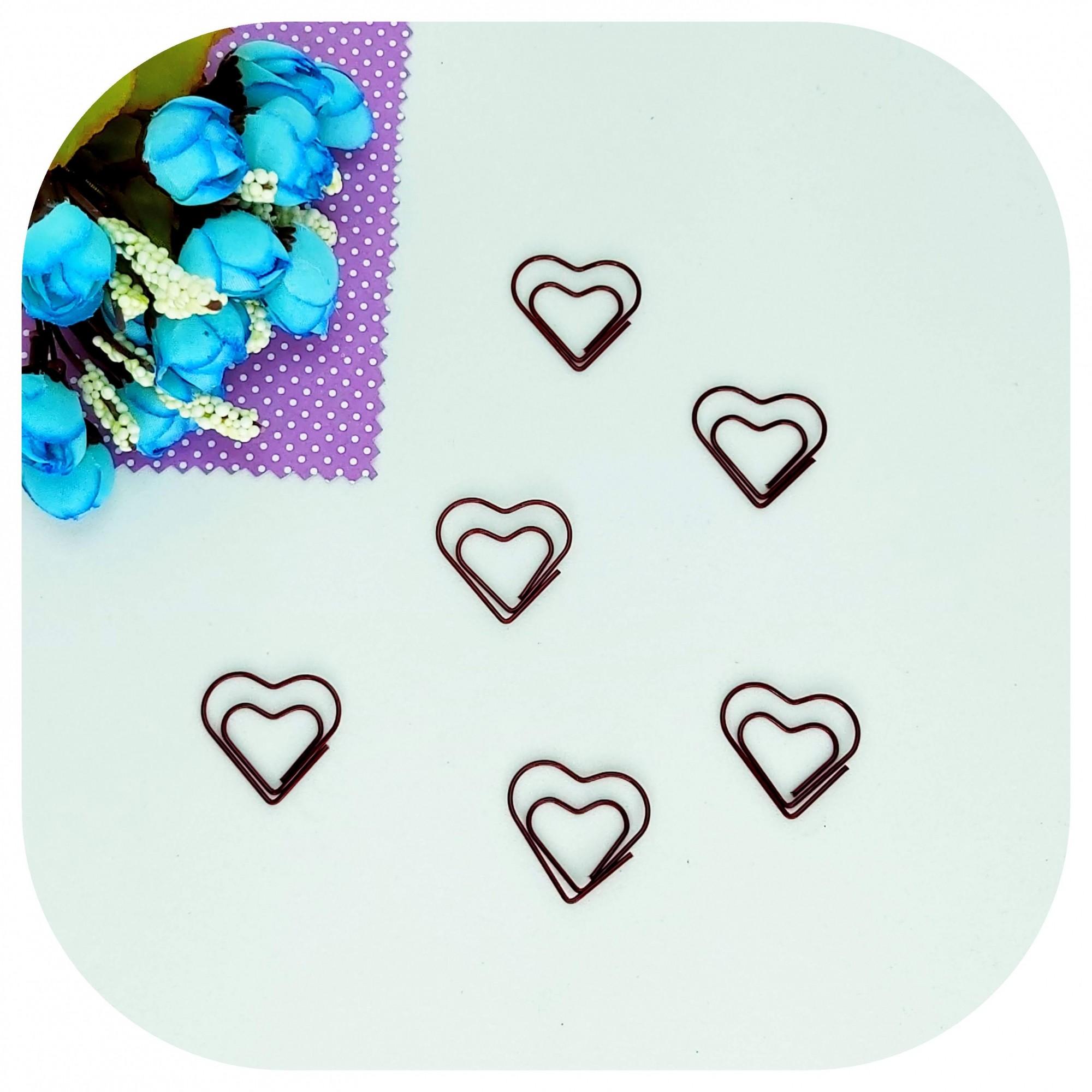 Cartela de Clips - Coração
