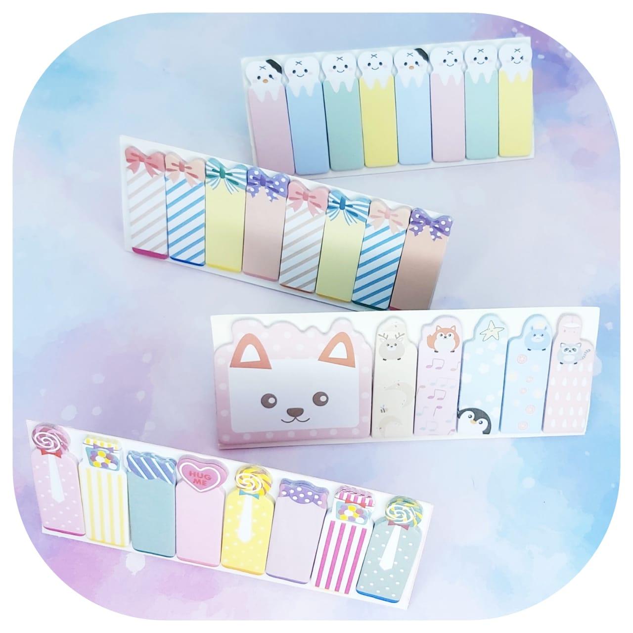 Cartela marcadores Cute