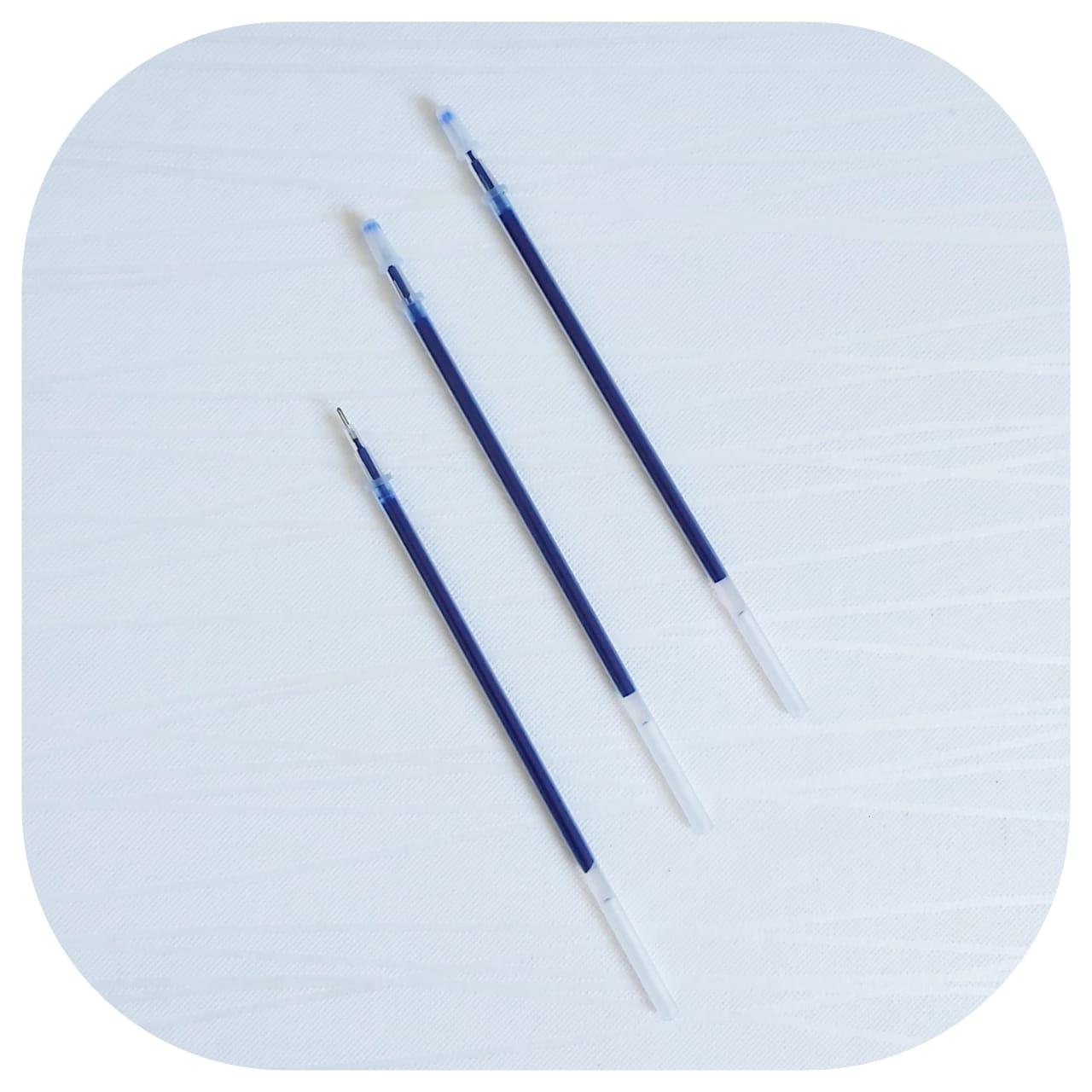 Kit 3 Cargas/Refis - Tinta Azul - 0,50mm