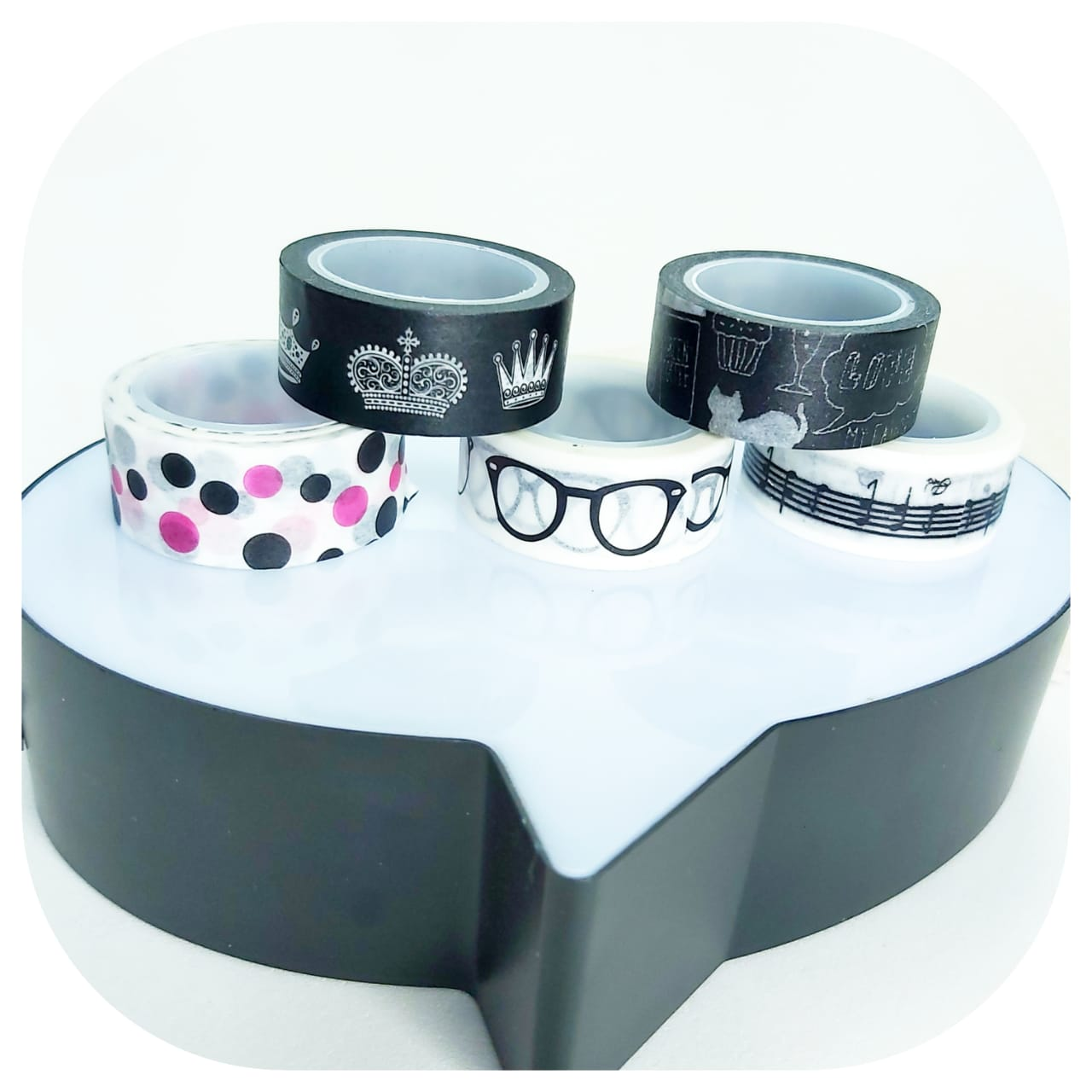 Kit 5 Washi Tapes - Young - BRW