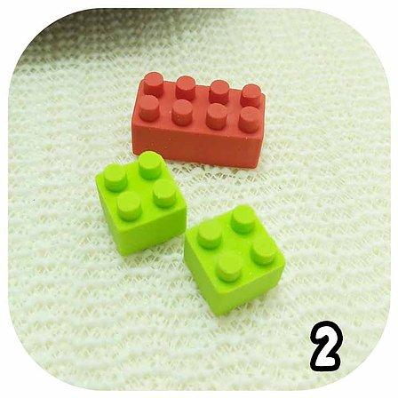 Kit Borrachas - 3 Legos