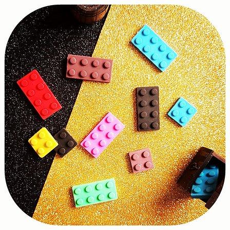 Kit Borrachas - Lego