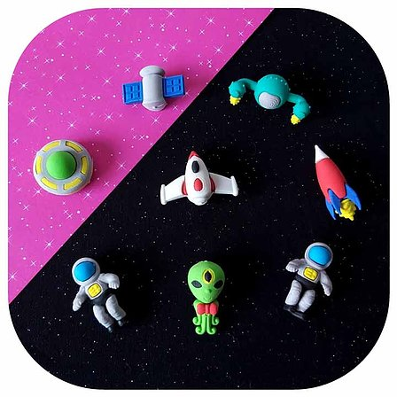 Kit Borrachas - Space