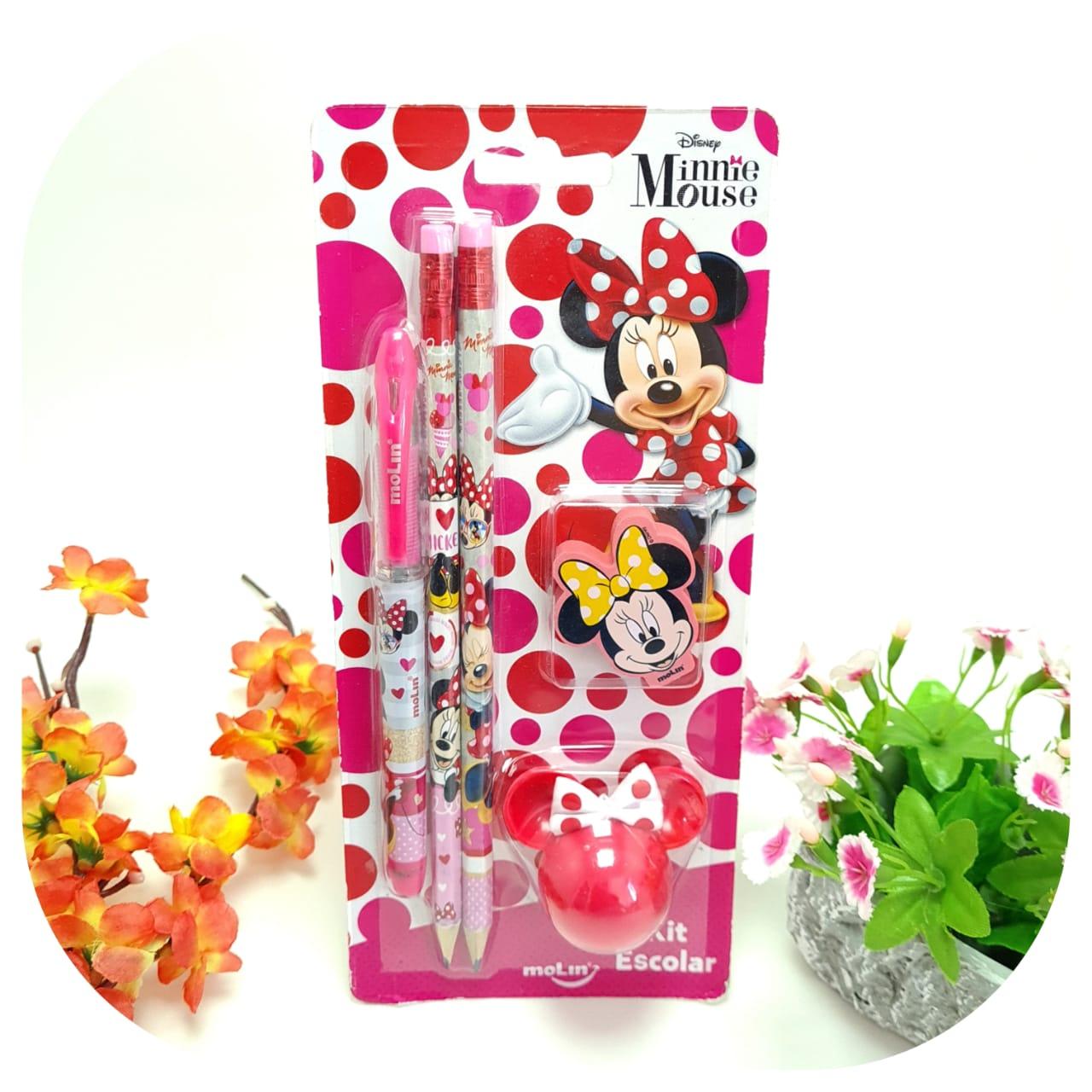 Kit Escolar Minnie - Molin