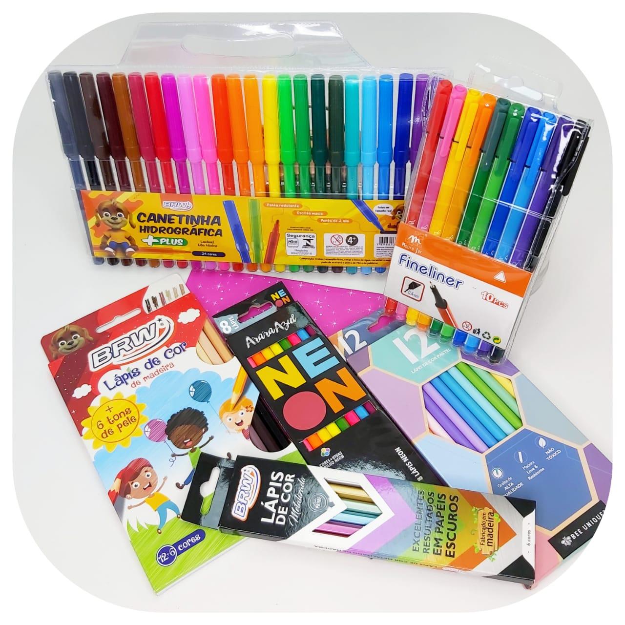 Kit Mundo Colorido