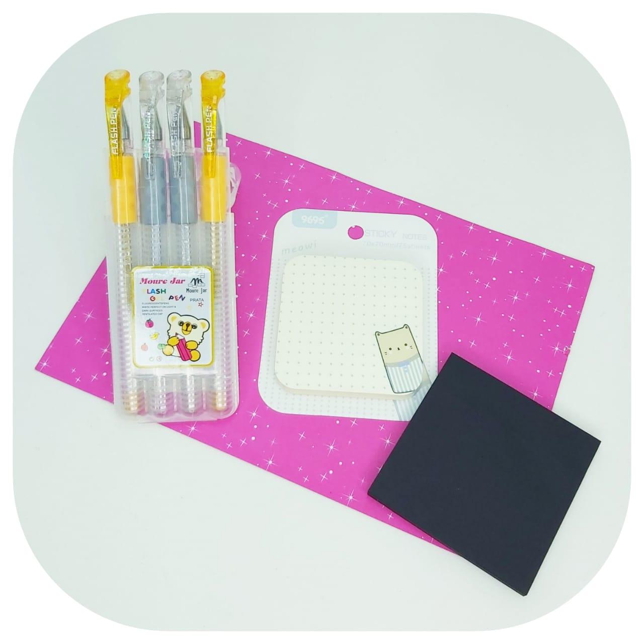 Kit Notes Gel Flash