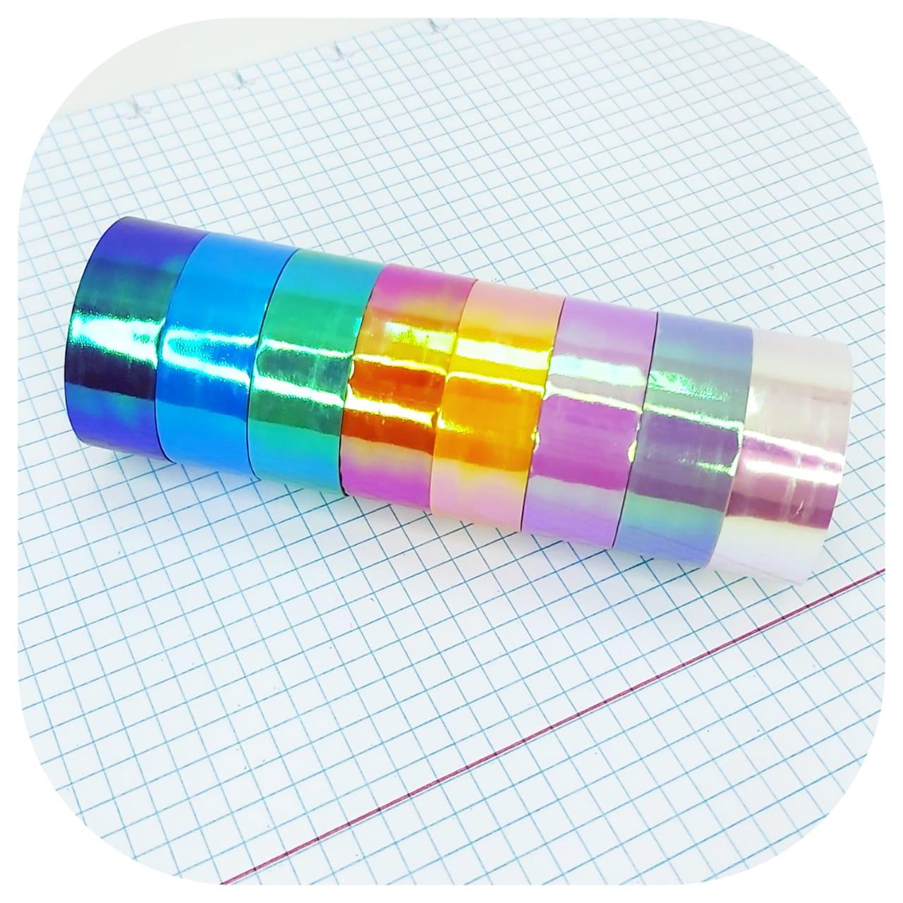 Kit Washi Tape - Holográfico - BRW