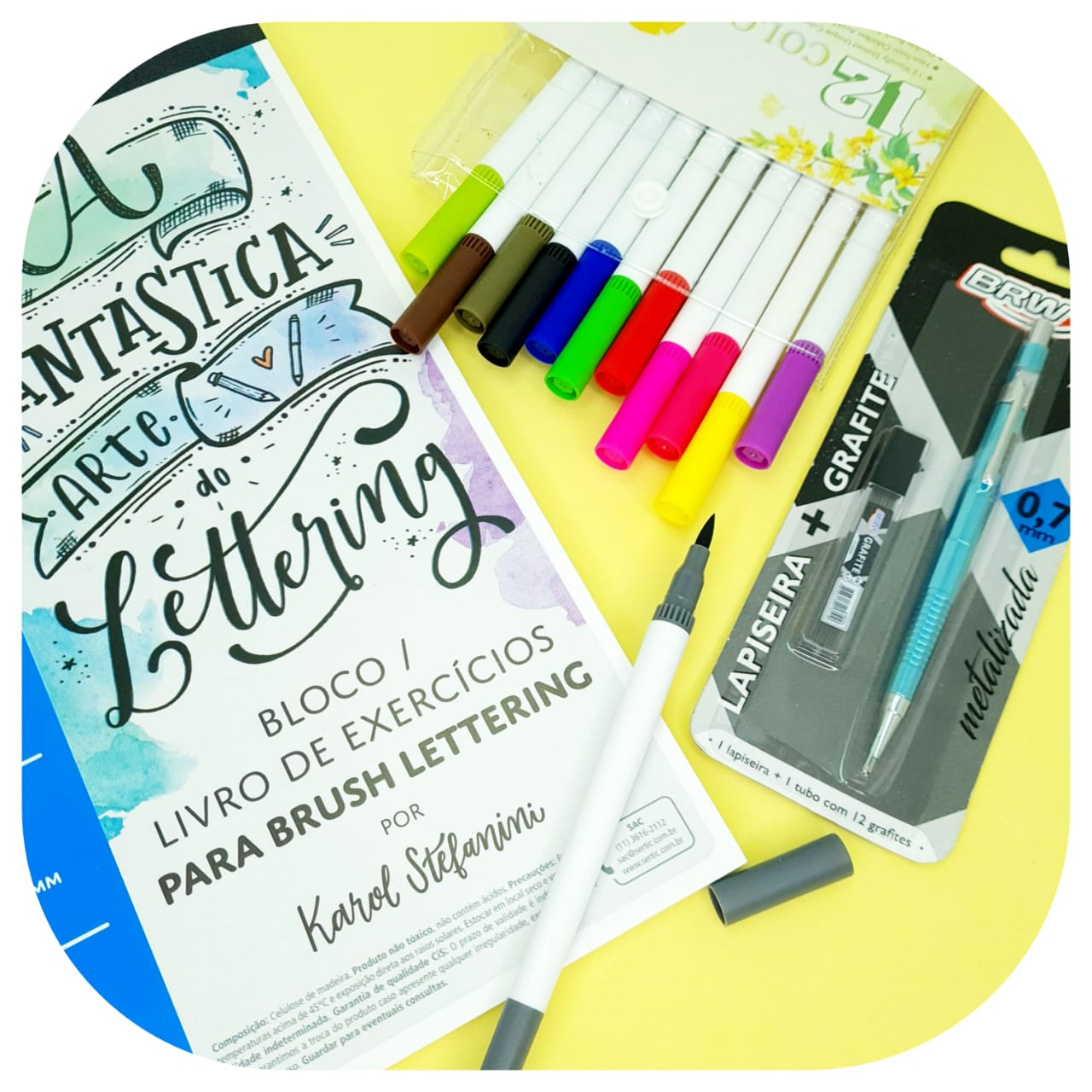 Kits Lettering - Iniciante