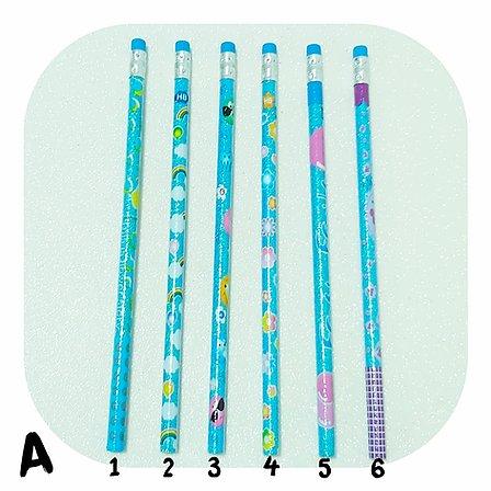 Lápis Preto - CiS - Glitter c/ Borracha