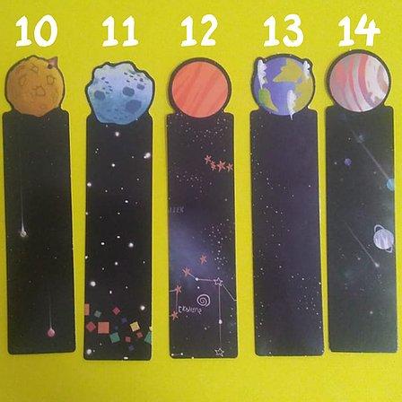 Marca Página - Planetas
