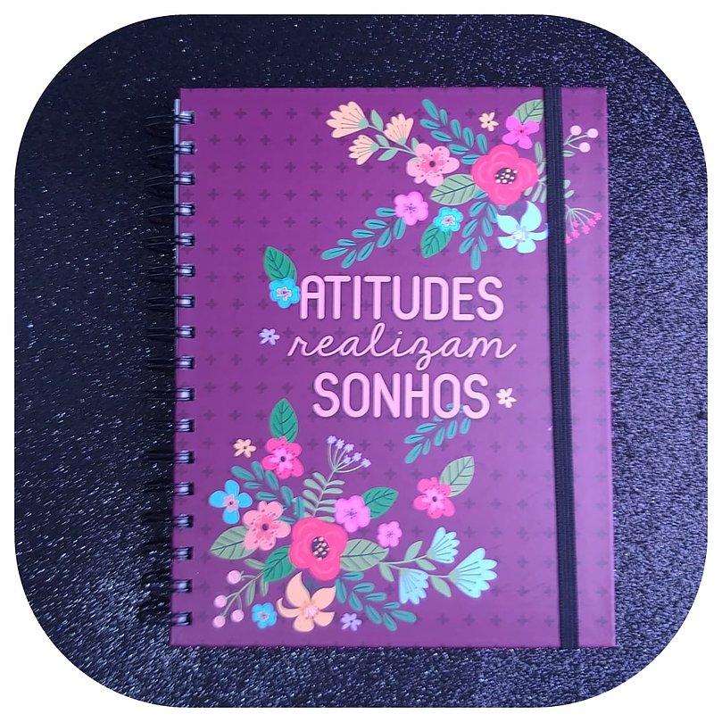Planner Anual - Flores