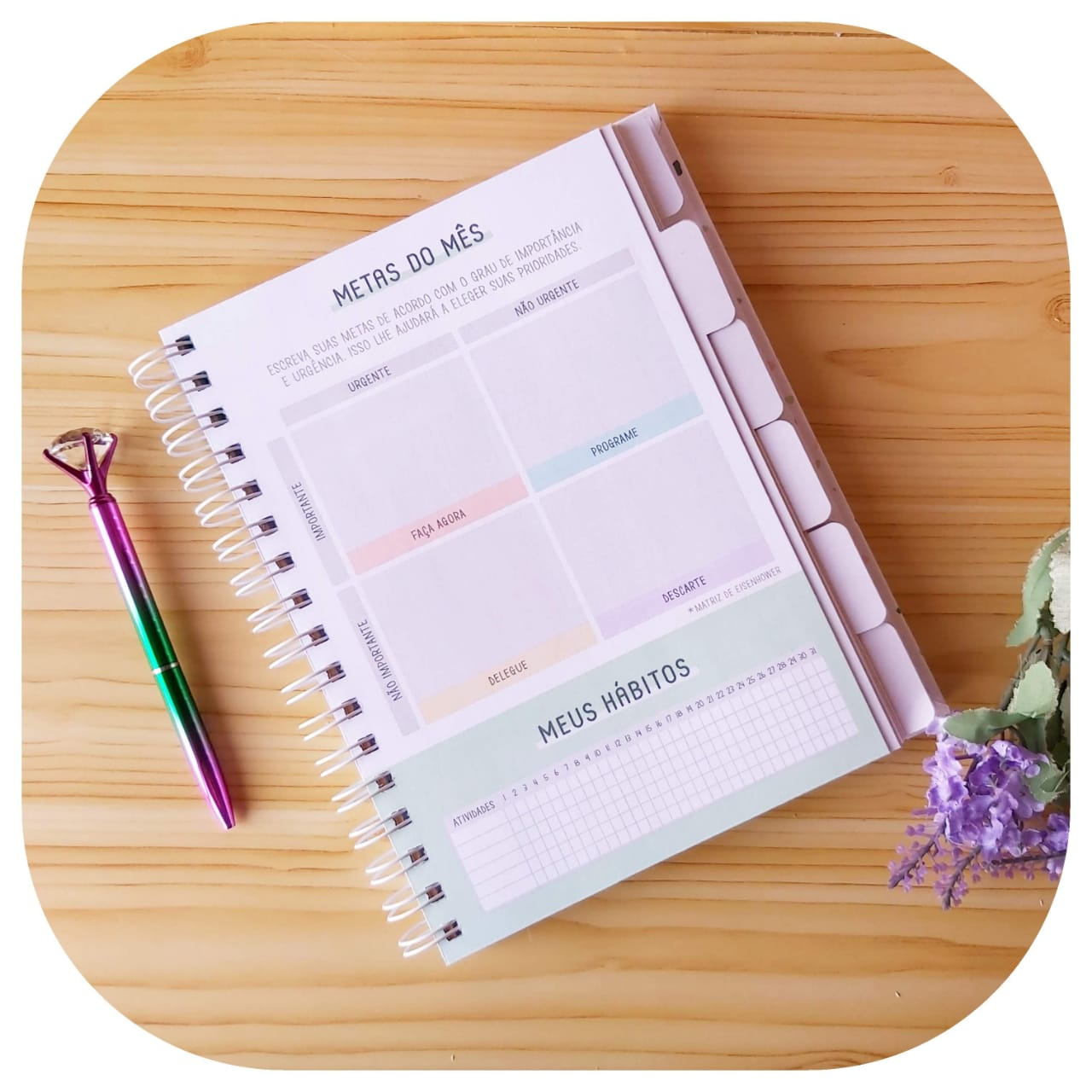 Planner Anual - Happiness