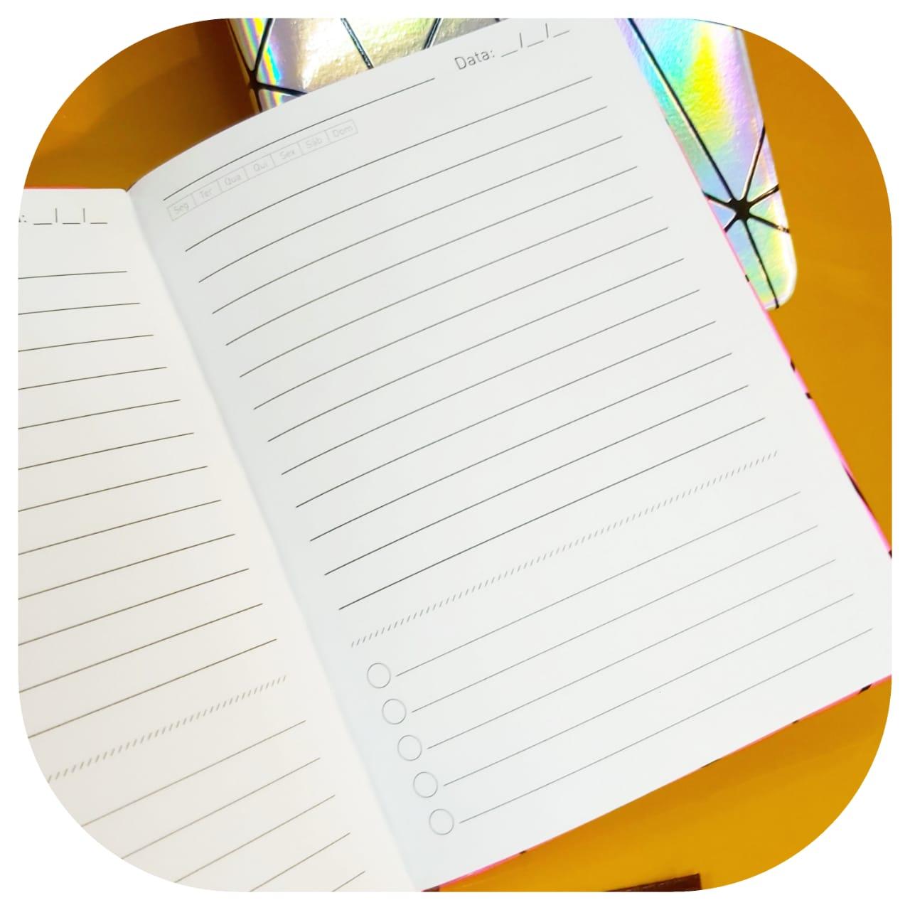 Planner Diário chromatic