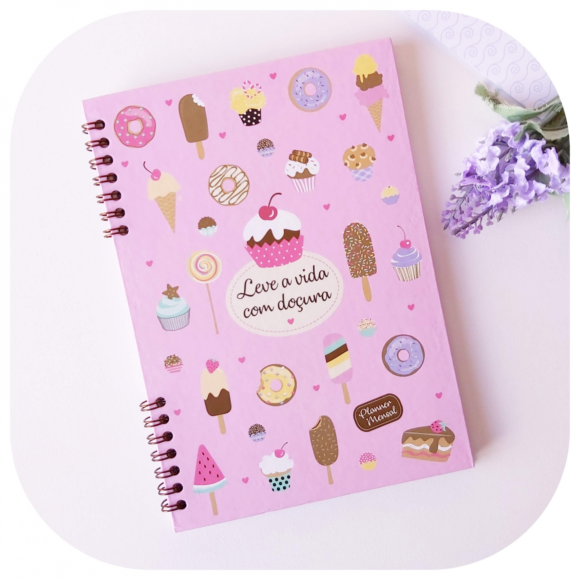 Planner Mensal - Compacto - Candy