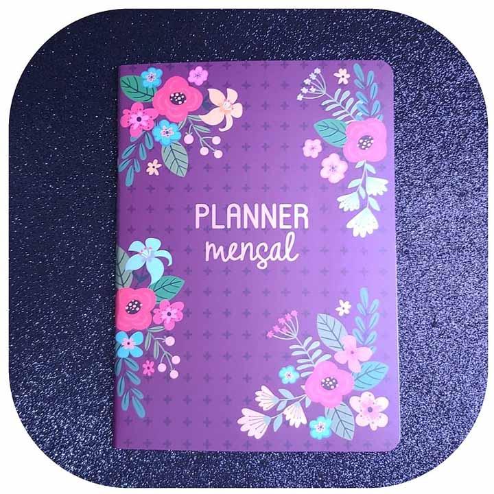Planner Mensal - Flores