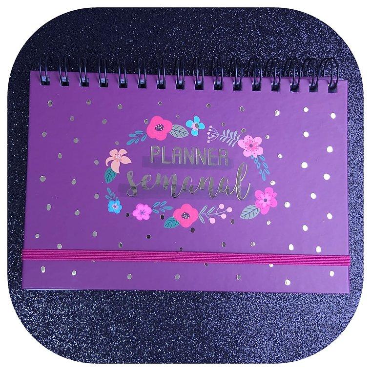 Planner Semanal - Capa Dura - Flores
