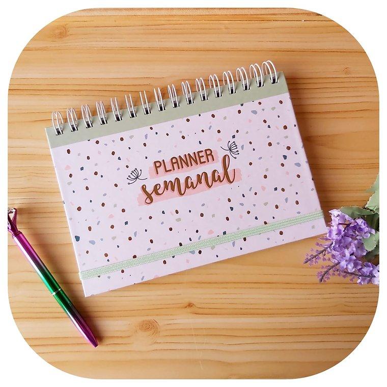 Planner Semanal - Capa Dura - Happiness