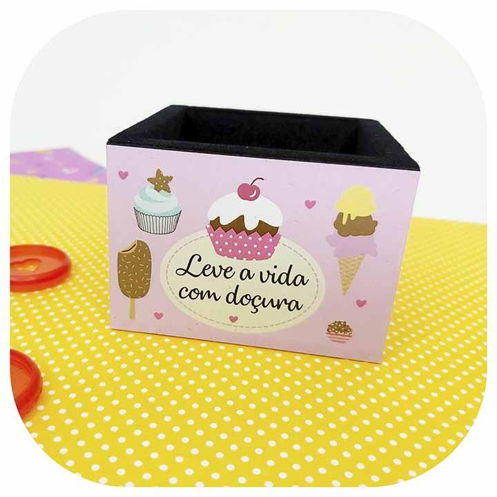Porta Clips - Madeira - Fina Ideia