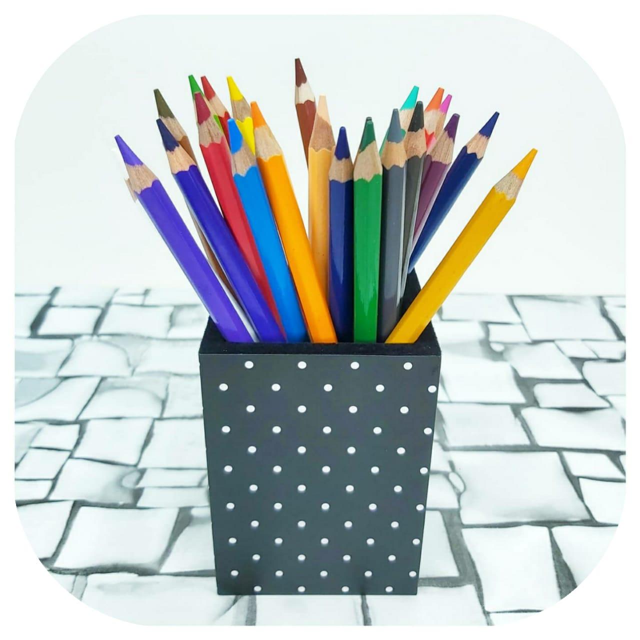 Porta Lápis - Dots - Fina Ideia