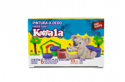 PINTURA A DEDO 15ML C/6 KOALA