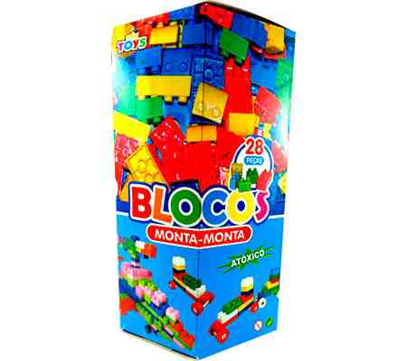BLOCO MONTAR CX.28 PCS