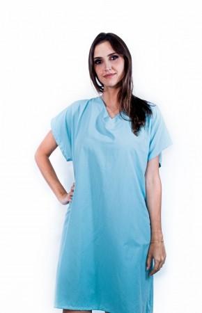 Avental Cirúrgico Sumaia Ariel Para Clínicas, Consultórios e Hospitais - Verde Cimento