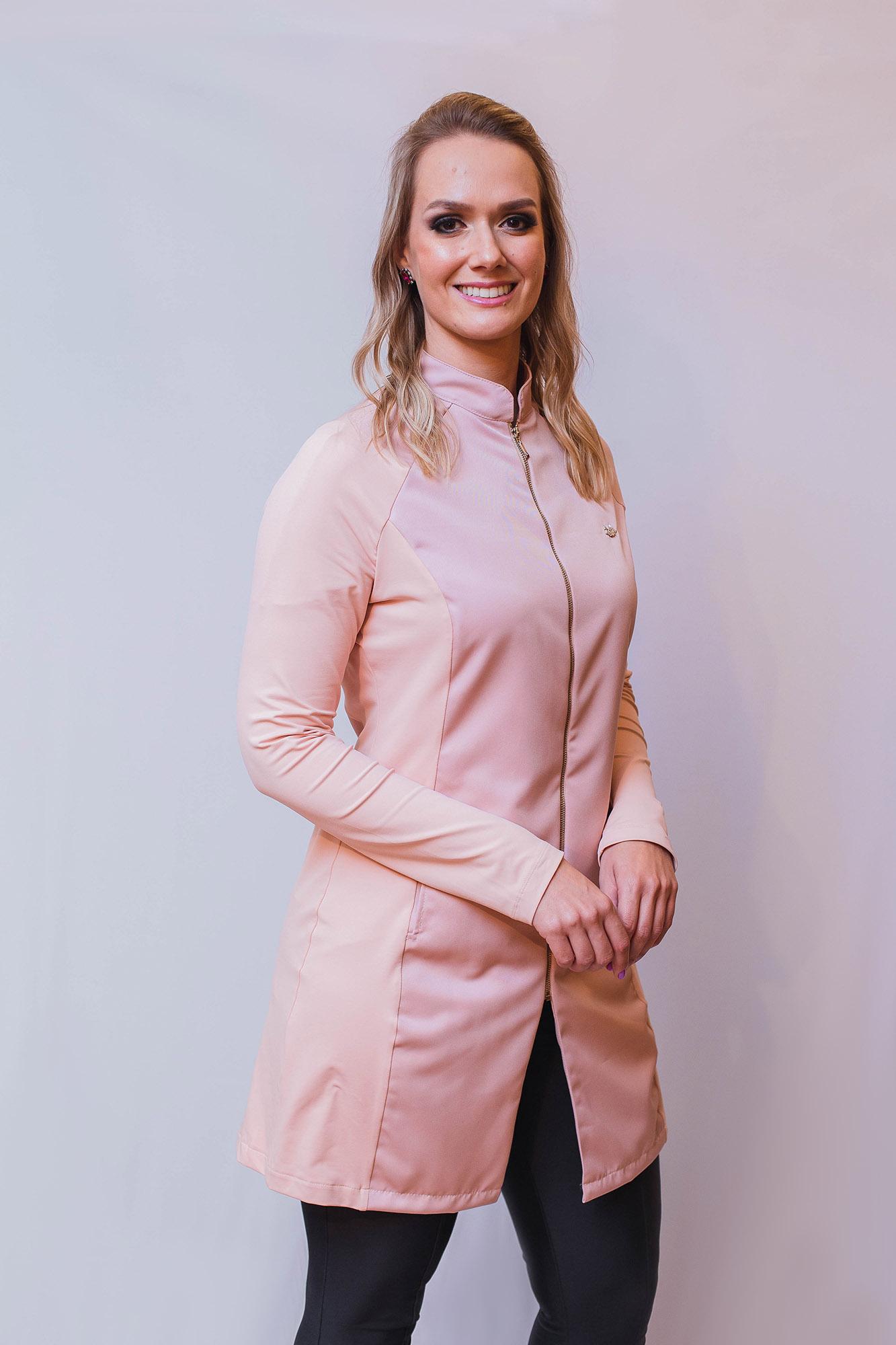 Jaleco Dentista do Bem Feminino - Rosê