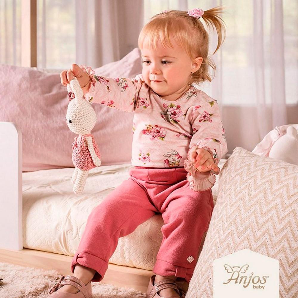Conjunto Inverno para Bebês 2 peças – Coelhinha