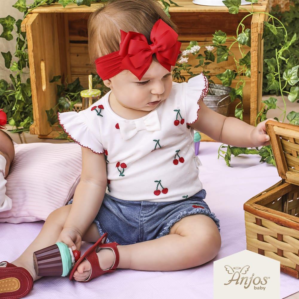Conjunto Verão para Bebês 2 peças – Cerejinha